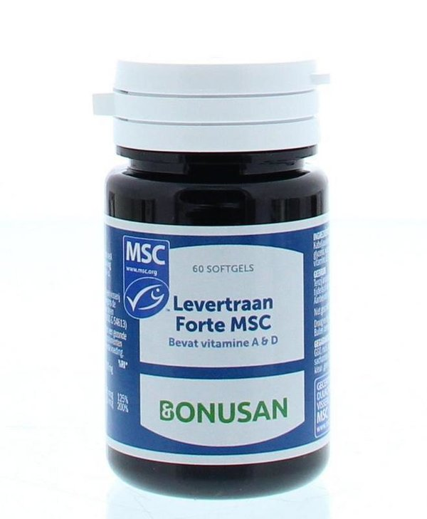 Levertraan forte MSC