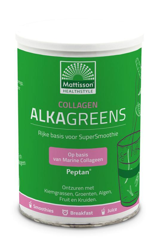 Collagen collageen AlkaGreens poeder