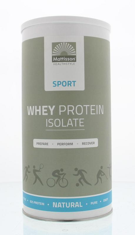 Whey wei proteine isolate isolaat
