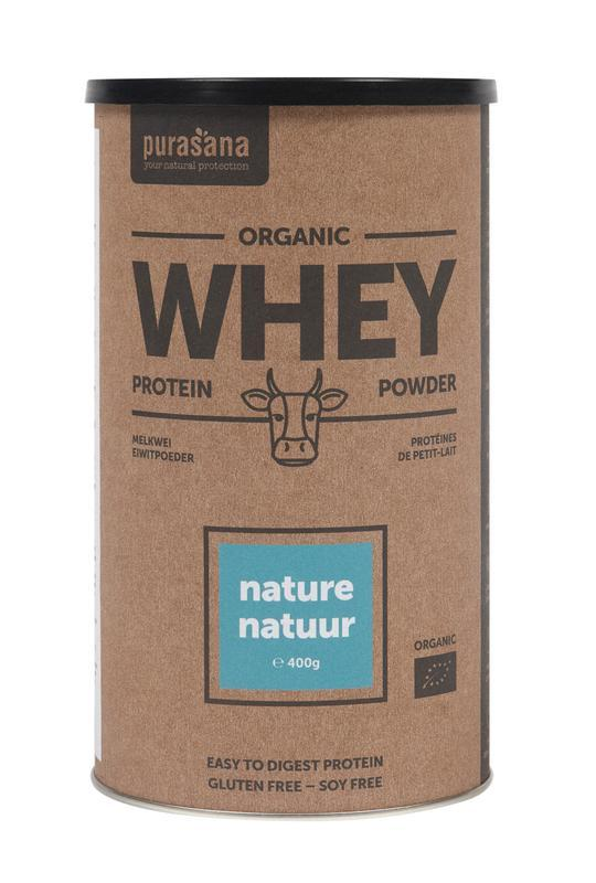 Whey proteine naturel bio